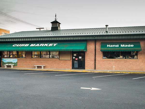 Curb Market in Hendersonville NC.