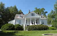 Fun things to do in Hendersonville NC : Carl Sandburg Historic Home in Flat Rock NC.
