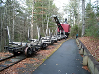 Fun things to do in Hendersonville NC : Cradle of Forestry in Pisgah Forest NC.