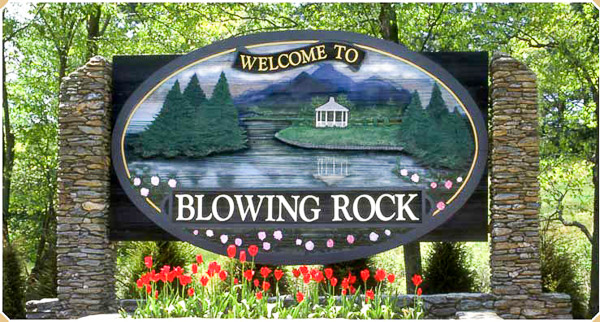Fun things to do in Hendersonville NC : Blowing Rock, NC.