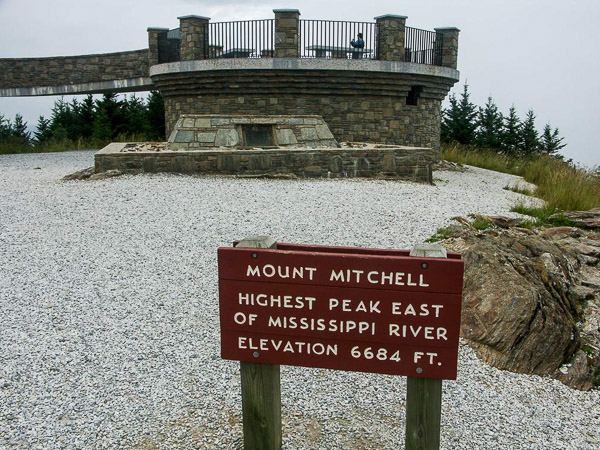 Fun things to do in Hendersonville NC : Mt Mitchell State Park in Burnsville NC.