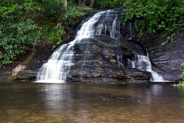 Fun things to do in Hendersonville NC : Gorges State Park in Sapphire NC.