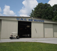 Western North Carolina Air Museum in Hendersonville NC.