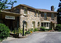 Fun things to do in Hendersonville NC : Echo Mountain Inn in Hendersonville NC.