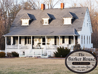 The Barker House 1891 Bed & Breakfast in Hendersonville NC.