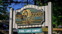 Fun things to do in Hendersonville NC : Mill House Lodge in Flat Rock NC.