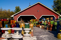 Fun things to do in Hendersonville NC : Bloomfields Of Flat Rock Outdoor Furnishings in Flat Rock, NC.
