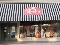 Fun things to do in Hendersonville NC : Beehive Resale Shop in Hendersonville NC.