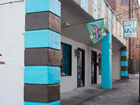 Fun things to do in Hendersonville NC : Art MoB Studios in Hendersonville NC.