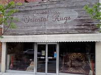 Fun things to do in Hendersonville NC : Carpathian Oriental Rugs in Hendersonville NC.