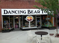 Fun things to do in Hendersonville NC : Dancing Bear Toys LTD in Hendersonville NC.